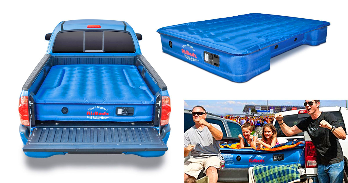 There S A Truck Bed Air Mattress That Fits Perfectly In The Back Of Your Truck