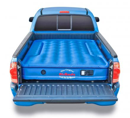 There's a Truck Bed Air Mattress That Fits Perfectly In The Back Of Your Truck