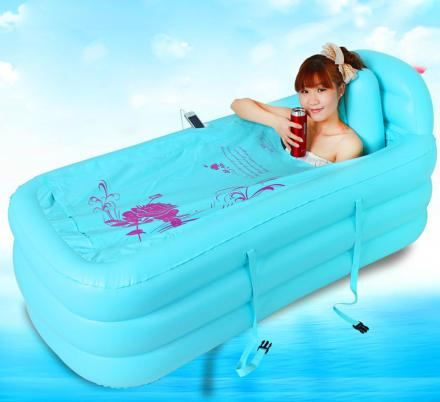 There's An Inflatable Spa Bath Tub For When You Miss Your Tub While Camping