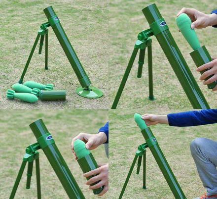 There's Now a Foam Mortar Launcher That Will Take Your Nerf Battles To The Next Level