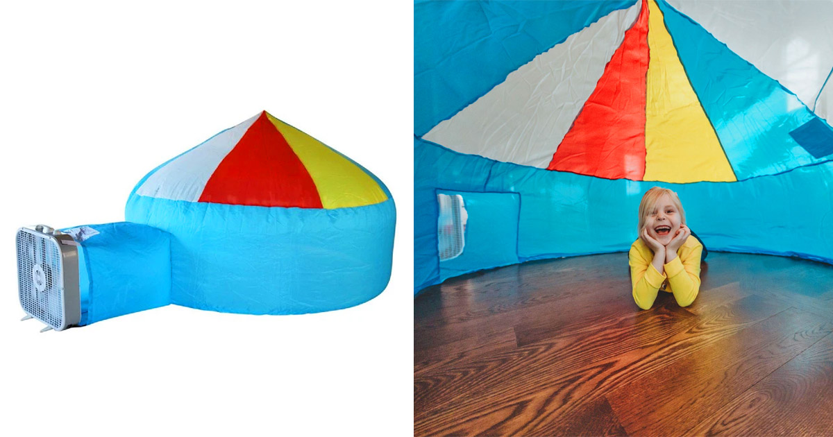 These Air Forts Are A Super Quick And Easy Activity For The Kids To Do While Stuck Inside