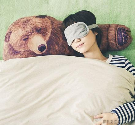 These Bear Hug Pillows Give You A Shoulder To Cry On