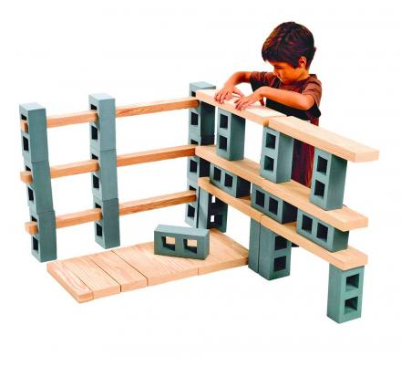 These Foam Cinder Blocks and Planks Lets Your Kids Create Awesome Structures