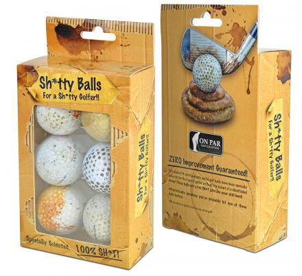 These Golf Balls Are Guaranteed To NOT Improve Your Already Terrible Golf Game