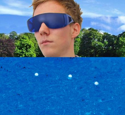 Golf Ball Finding Glasses Turn Everything Blue Except Your Golf Ball