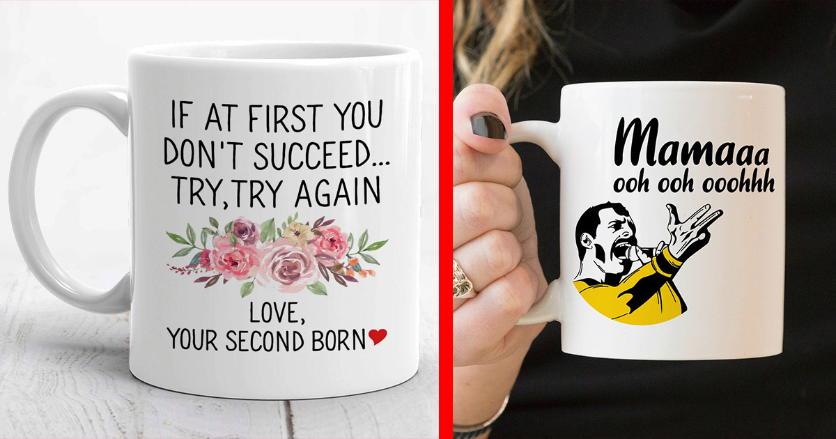 These Might Be The Most Creative and Hilarious Mothers Day Mugs Ever