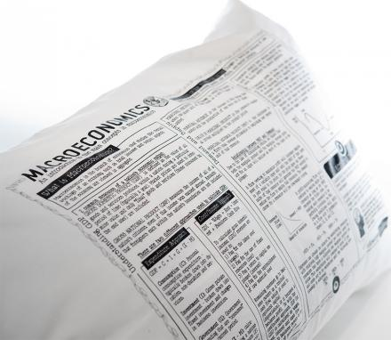 These Pillow Cases Have a Study Guide For Your College Major On Them