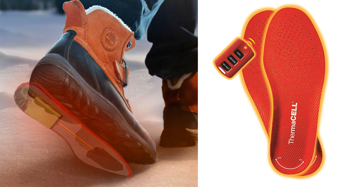 These Rechargeable Heated Shoe Insoles Will Keep Your Feet Toasty All Winter Long