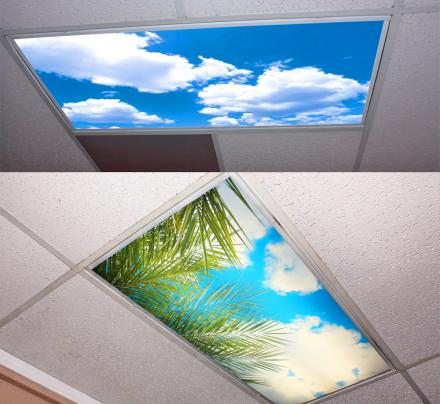 These Sky Panel Light Fixture Covers Help With Dark Offices and Schools