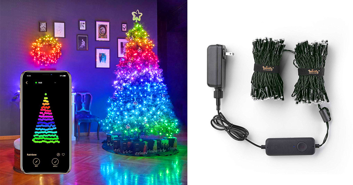 These Smart String Lights Lets You Program Your Own Christmas Tree Lighting