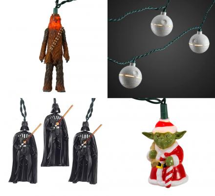 These Star Wars String Lights Deserve a Spot On Every Geeks Christmas Tree