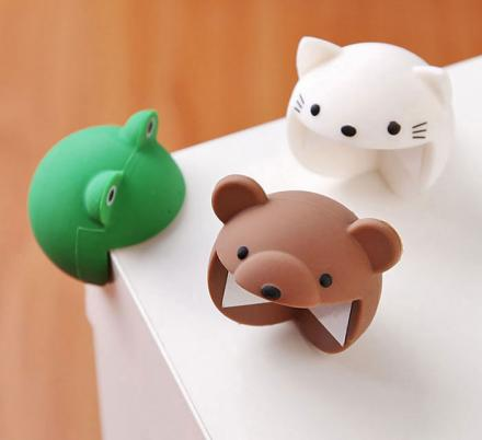 These Animal Shaped Table Corner Protectors Look Like They