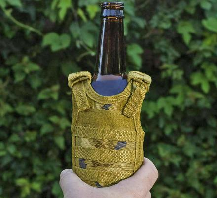 These Tactical Vest Beer Koozies Are Perfect For People In The Military or Law Enforcement
