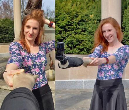 This Fake Arm Selfie Stick Makes It Look Like You Have Friends