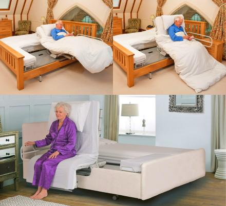 This Automatic Rotating Bed Helps Those In Need Easily Get In and Out Of Bed