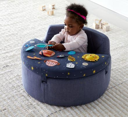 This Cute Baby Activity Chair Helps Them Learn About Space And The Solar System