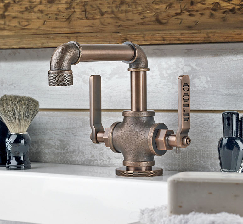 This Bathroom Faucet Looks Like An Old Industrial Pipe