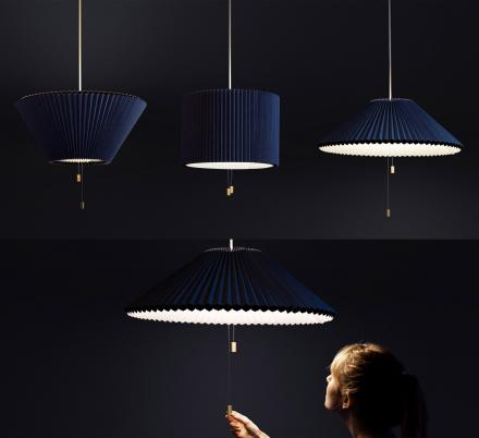 This Beautiful Adjustable Lamp Lets You Point Light Either Up or Down