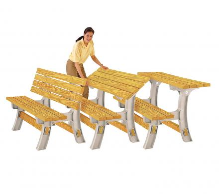 Tremendous This Kit Lets You Diy Your Own Converting Bench Table Evergreenethics Interior Chair Design Evergreenethicsorg