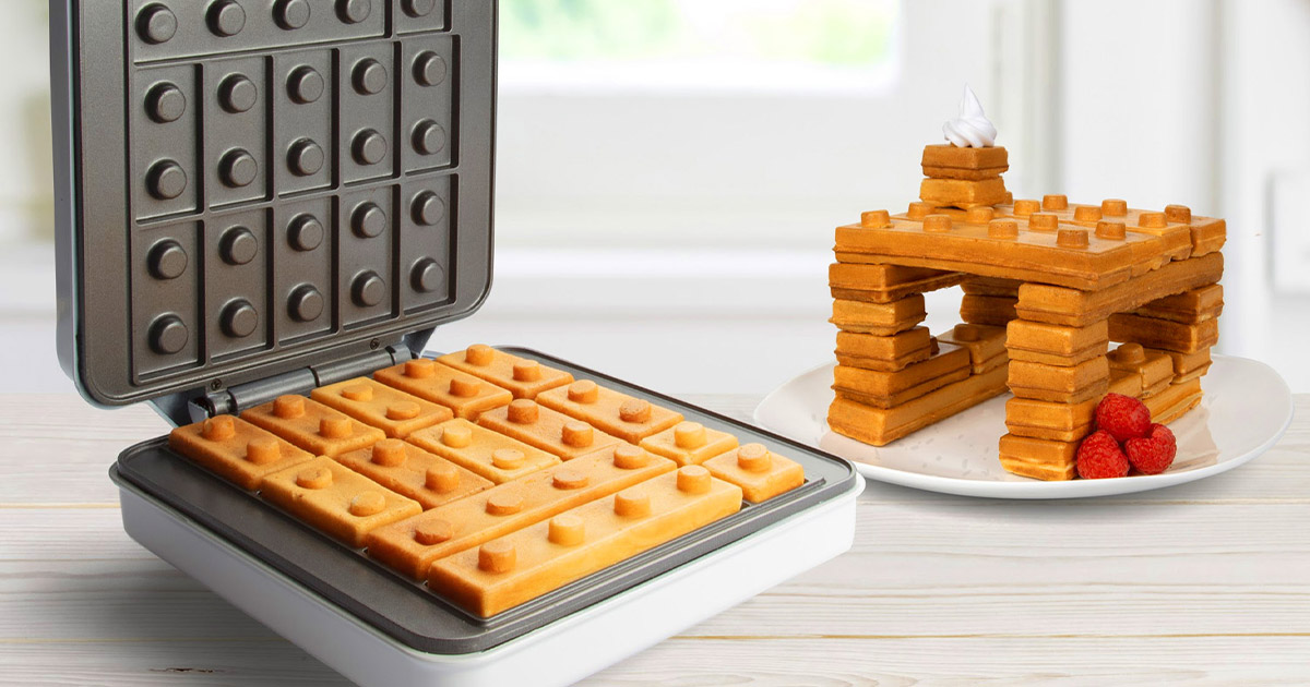 This Building Block Waffle Maker Lets You Play With Your Breakfast Like They