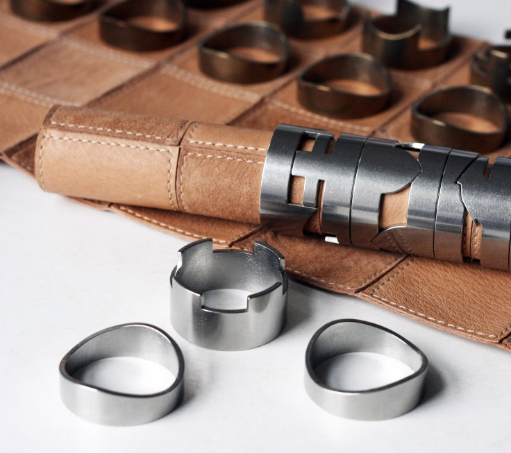 This Classy Leather Chess Set Rolls Up For Easy Transport
