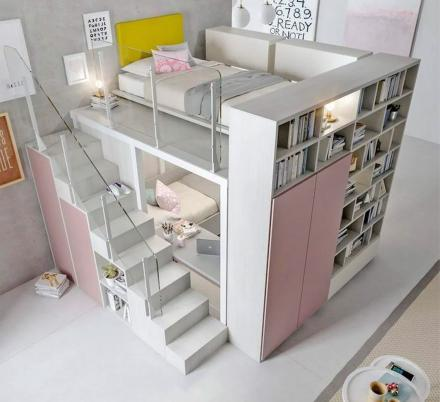 This Company Makes Incredible Modern Custom Loft Bedroom Designs