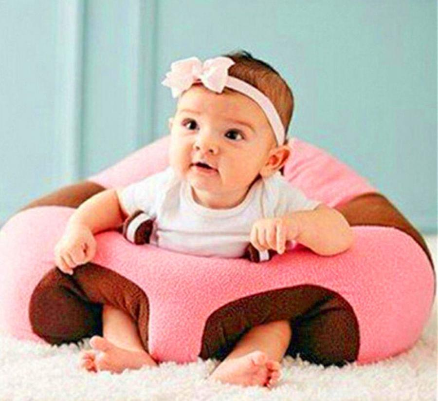 Toddlers RuanYF Baby Sitting Chair,Baby Sofa Support Seat Comfortable Infant Back Support Floor Seat Plush Pillow Safety Seats Sofa Sitting Learning to Sit Sofa Chair for Babies