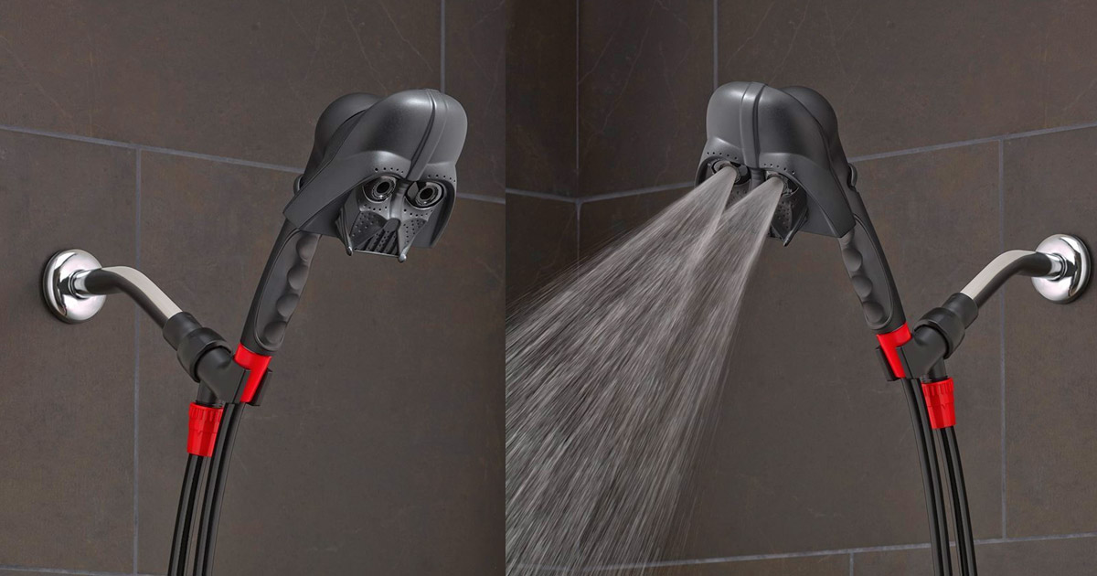 This Darth Vader Shower Head Lets You Bathe In Darth Vader