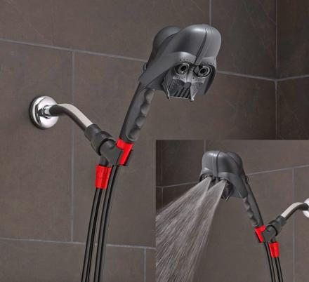 This Darth Vader Shower Head Will Clean You, But Fail To Wash The Geekiness Off Of You
