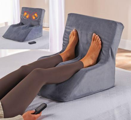 This Device Lets You Get a Shiatsu Foot Massage While Laying In Bed