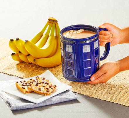 This Giant Doctor Who TARDIS Mug Will Keep You Energized All Day