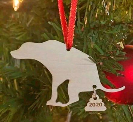 This Dog Poop 2020 Christmas Ornament Encapsulates This Year Perfectly