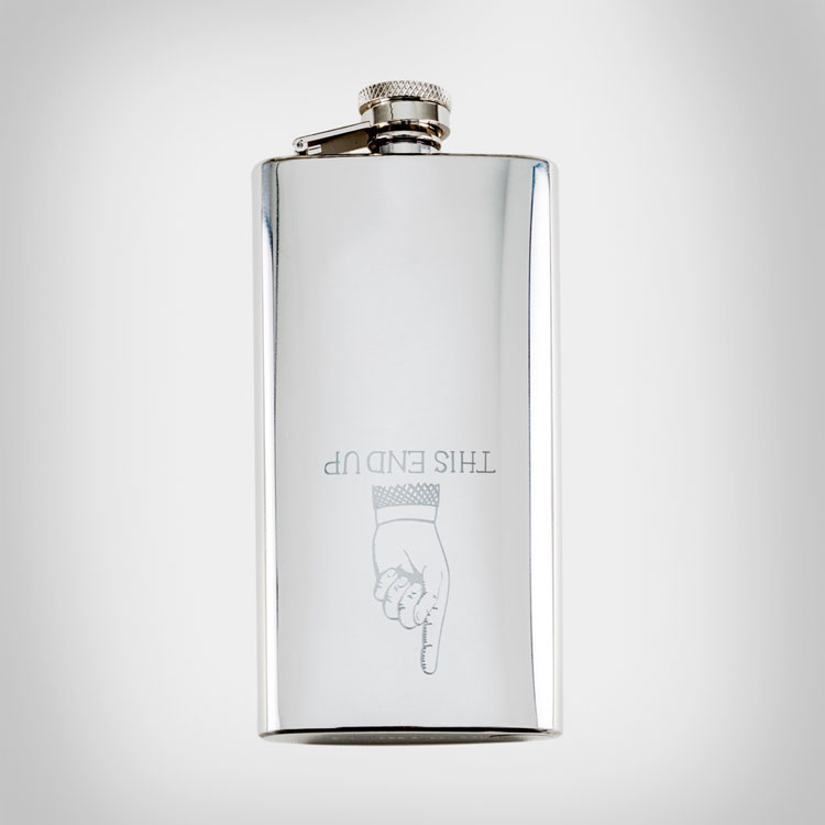 This End Up Flask