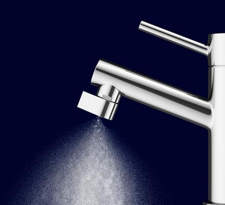 Altered:Nozzle Conserves 98% of the Water You Use Through It