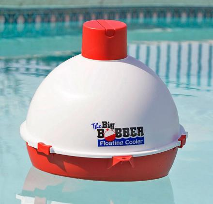This Floating Beer Cooler Is Shaped Like a Giant Fishing Bobber