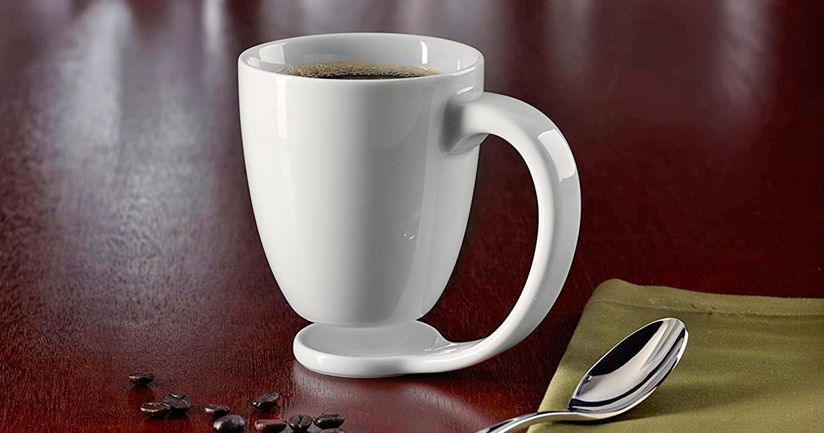 This Floating Coffee Mug Prevents Water Stains On Your Tables