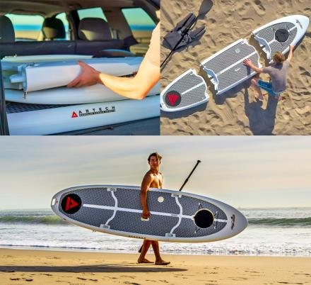 This Genius Modular SUP Paddle Board Comes In 3 Separate Pieces