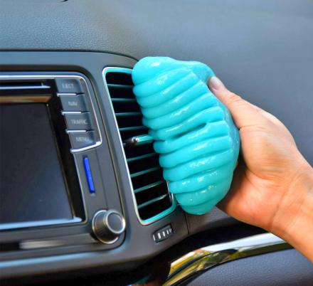 This Slime Will Clean All Of The Hard To Reach Dust In Your Car and Office