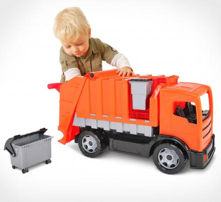 This Giant Working Garbage Truck Toy Lets Your Child Become a Junior Sanitation Engineer