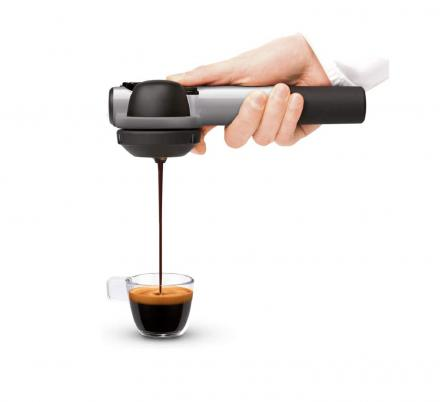 This Handheld Coffee Maker Lets You Make an Espresso Anywhere