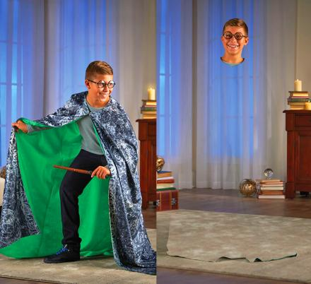 This Harry Potter Invisibility Cloak Actually Turn You Invisible Using a Smart Phone App