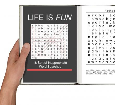 This Inappropriate Word Find Book Will Spice Up Your Word Gaming Fun