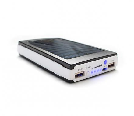 This Massive 50,000 mAh Solar Battery Charger Can Be Powered Via The Sun