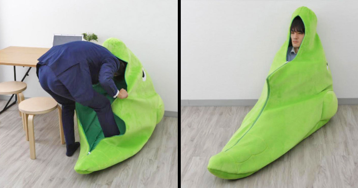 This Metapod Sleeping Bag Is Ultimate Napping Spot For The Office