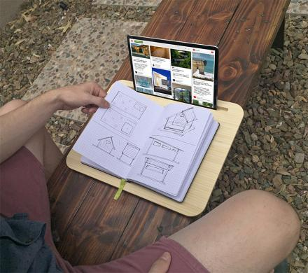 This Minimalist Lap Desk Is Perfect For Working On The Go