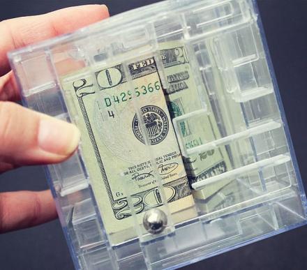 This Money Maze Bank Makes You Solve a Puzzle To Get Your Money Out