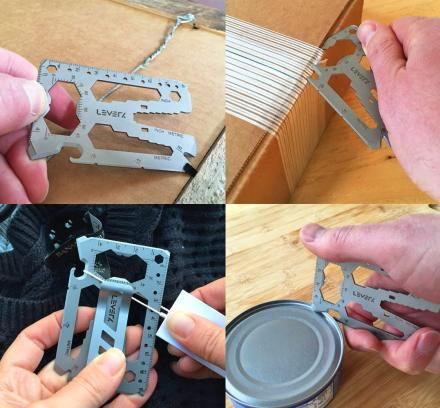 This Multi-Tool Fits In Your Wallet and Has More Than 40 Tools On It