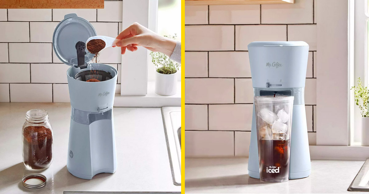 This New Iced Coffee Maker By Mr. Coffee Lets You Make ...