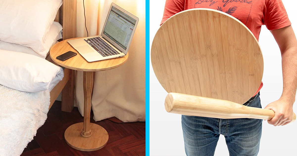 This Nightstand Turns Into a Bat and Shield For Self-Defense