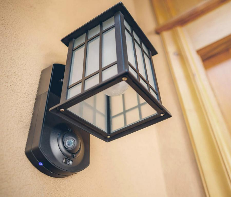 Kuna an outdoor home light that doubles as a smart security camera kuna an outdoor home light that doubles as a smart security camera enlarge image mozeypictures